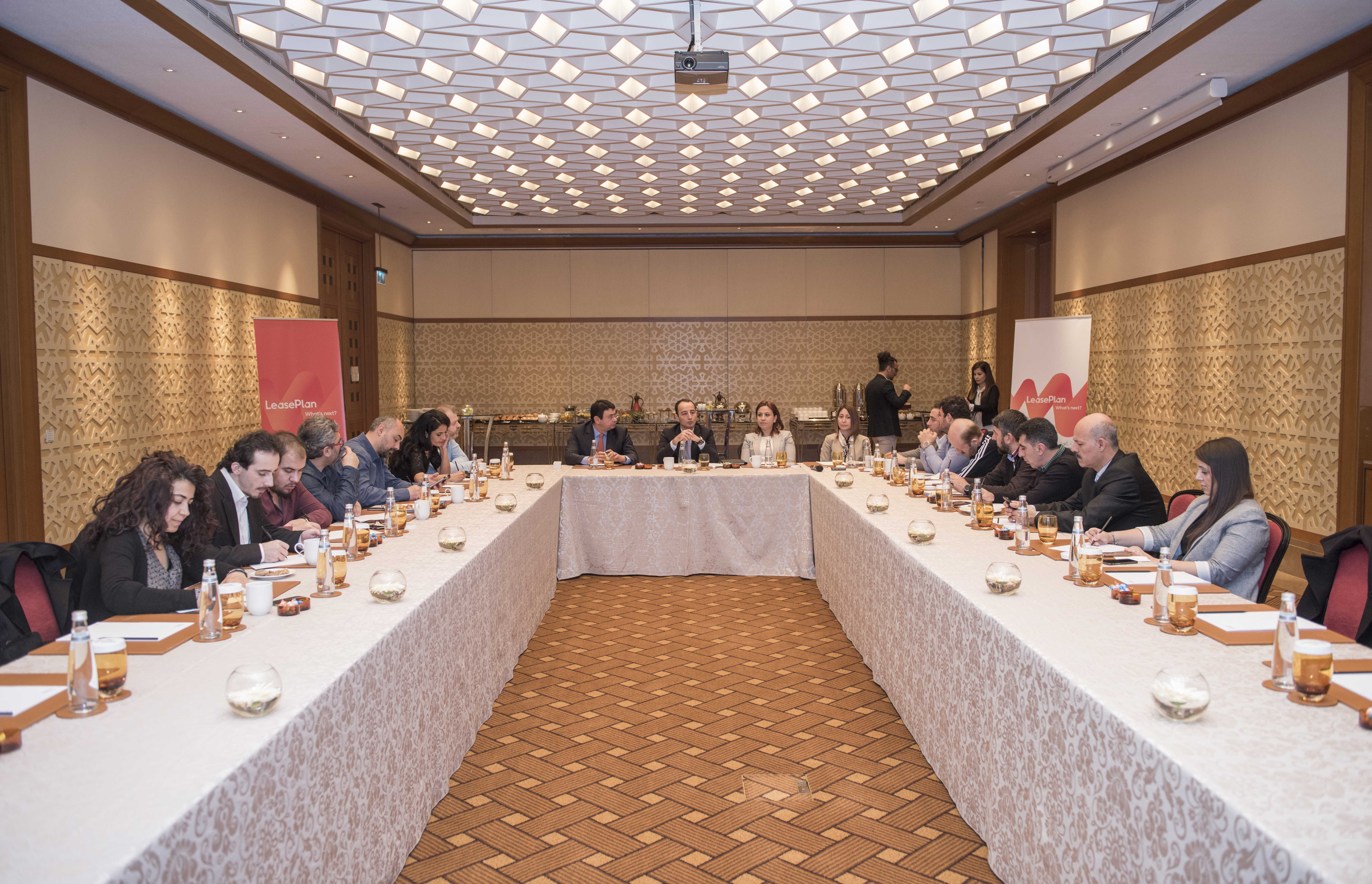 LeasePlan Türkiye Basın Toplantısı