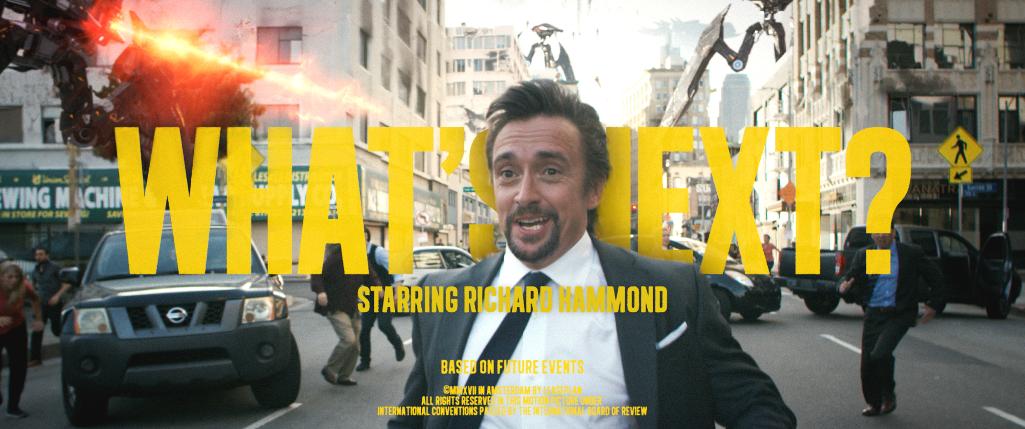 LeasePlan'den Richard Hammond'la Global Kampanya